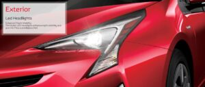4th Generation Toyota Prius Sedan LED Headlights