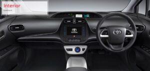 4th Generation Toyota Prius Sedan interior dashboard