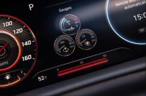 8th Generation Hyundai Sonata Luxury Sedan instrument cluster