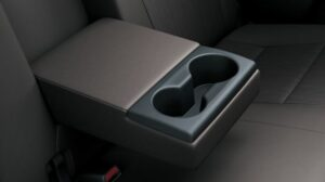 8th Generation Toyota Revo cup holders and arm rest