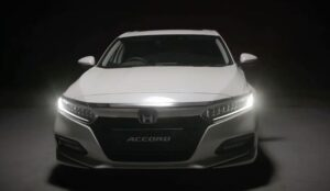 10th generation Honda Accord sedan Led headlamps