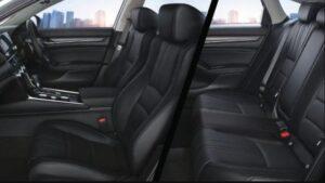 10th generation Honda Accord sedan full interior cabin view