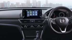 10th generation Honda Accord sedan luxury dashboard view