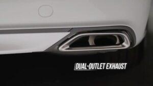 10th generation Honda Accord sedan outlet exhaust