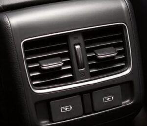 10th generation Honda Accord sedan rear air vents