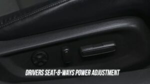 10th generation Honda Accord sedan seat adjusting options