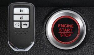 10th generation Honda Accord sedan start stop button