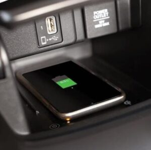 10th generation Honda Accord sedan wireless charging