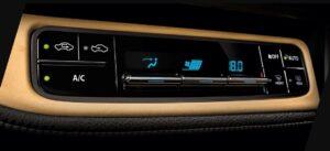 11th generation Toyota corolla Altis Grande climate control buttons