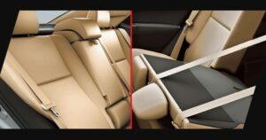 11th generation Toyota corolla Altis Grande folding rear seats