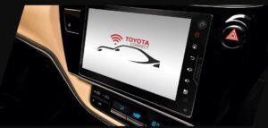 11th generation Toyota corolla Altis Grande infotainment screen view