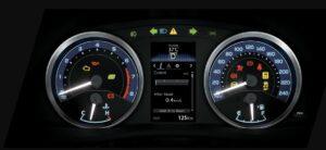 11th generation Toyota corolla Altis Grande instrument cluster
