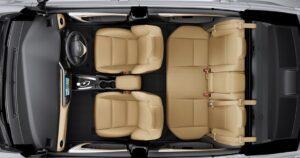 11th generation Toyota corolla Altis Grande upside interior view