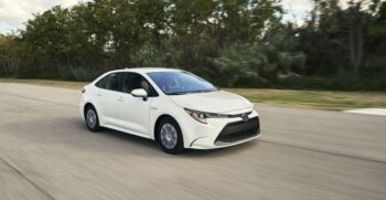 12th Generation Toyota Corolla Hybrid Sedan feature image