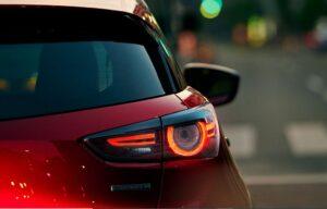 1st Generation Mazda CX3 beautiful tail lamps close view
