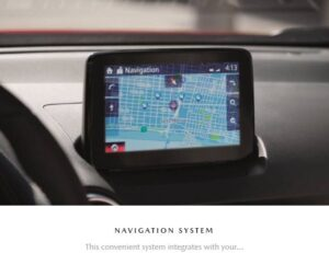 1st Generation Mazda CX3 suv navigation system