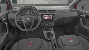 1st generation seat arona crossover front cabin interior view