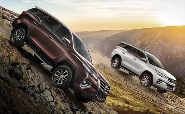 2nd Generation Toyota fortuner sportivo suv title image