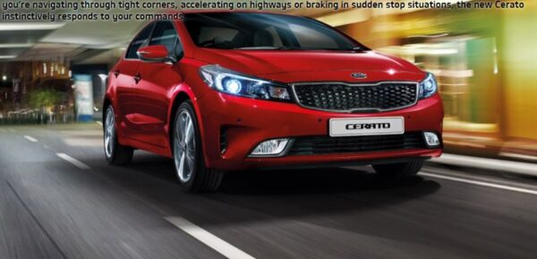 4th Generation Kia Cerato sedan title image