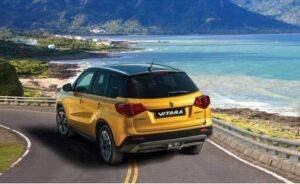 4th Generation Suzuki Vitara SUV Full Rear View