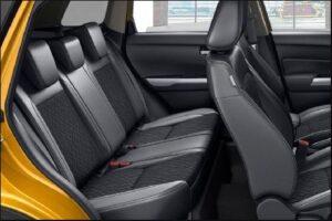 4th Generation Suzuki Vitara SUV Rear seats