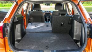 4th Generation Suzuki Vitara SUV luggage area view