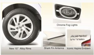 5th Generation Honda City Sedan Exterior features