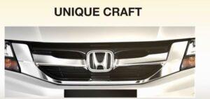 5th Generation Honda City Sedan Front grille close view
