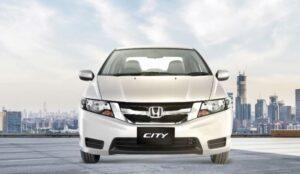 5th Generation Honda City Sedan front view