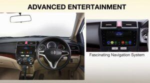 5th Generation Honda City Sedan infotainment system