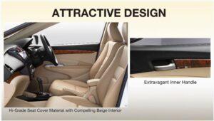 5th Generation Honda City Sedan interior design