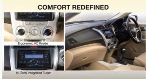 5th Generation Honda City Sedan interior features