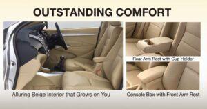 5th Generation Honda City Sedan outstanding interior