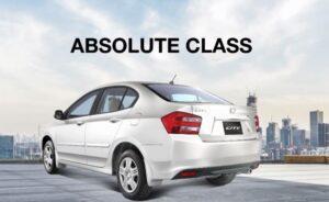 5th Generation Honda City Sedan side rear view
