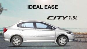 5th Generation Honda City Sedan side view