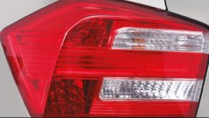 5th Generation Honda City Sedan tail lamps close view