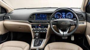 6th Generation Hyundai Elantra Interior cabin and features