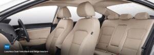 6th Generation Hyundai Elantra full cabin interior view