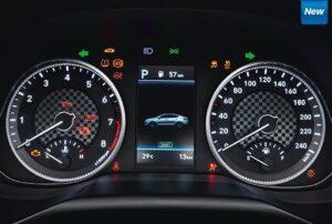 6th Generation Hyundai Elantra instrument cluster
