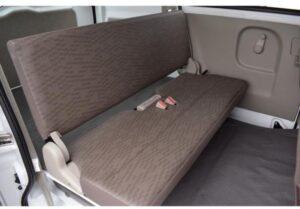 8th Generation Mitsubishi mini cab Rear seats