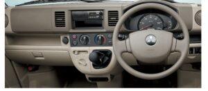 8th Generation Mitsubishi mini cab dashboard view