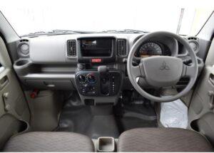 8th Generation Mitsubishi mini cab front cabin interior