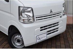 8th Generation Mitsubishi mini cab front close view