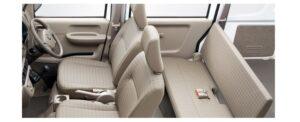 8th Generation Mitsubishi mini cab interior view