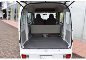 8th Generation Mitsubishi mini cab rear door lifted up