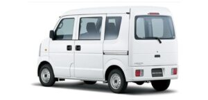 8th Generation Mitsubishi mini cab side rear view