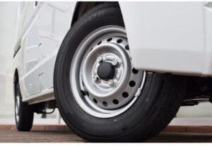 8th Generation Mitsubishi mini cab wheels view