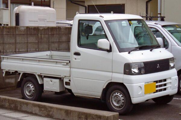 8th Generation Mitsubishi mini truck view