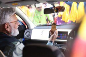 8th Generation Suzuki Alto Hatchback front cabin interior