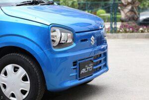 8th Generation Suzuki Alto Hatchback front close view
